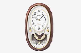 ウエーブシンフォニー 電波掛時計
